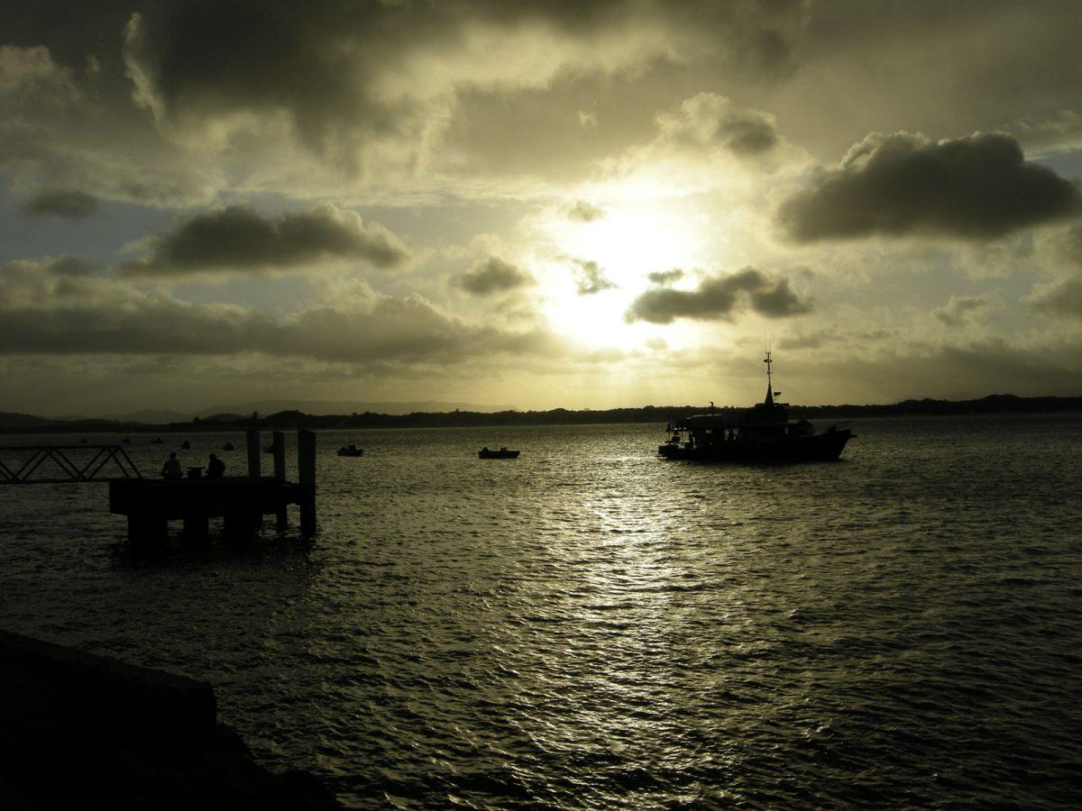 ein Bild vom Sonnenuntergang