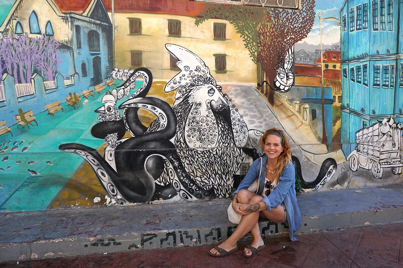 Streetart in Valparaiso, Chile, 2017