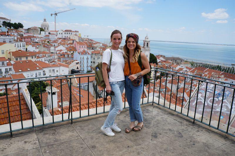 Julia und ich in Portugal